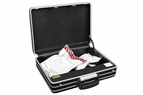 SAT Security Briefcase and portable safe