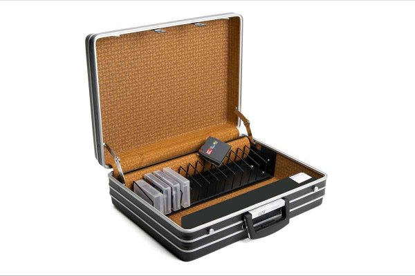 SAT-DATA Security Briefcase for data carriers